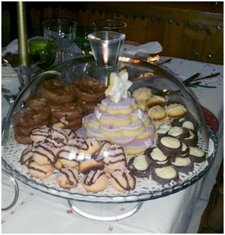 foto banquete dulce